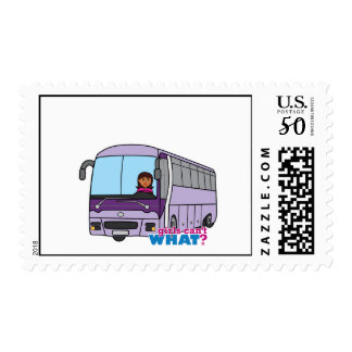 Woman Bus Driver Postage