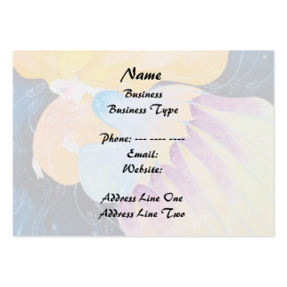 Woman. Business Card Template