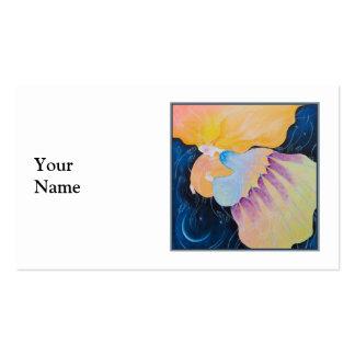 Woman. Business Card Templates