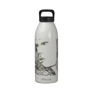 Woman by Celestine Drinking Bottles
