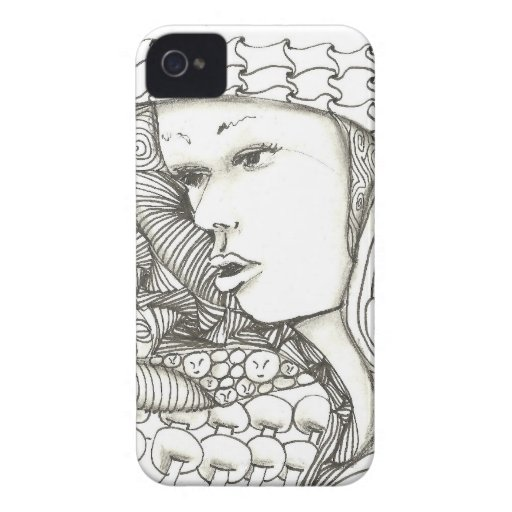 Woman by Celestine iPhone 4 Cases