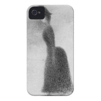 Woman by Georges Seurat Case-Mate iPhone 4 Cases