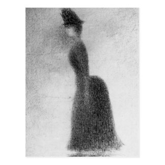 Woman by Georges Seurat Postcard