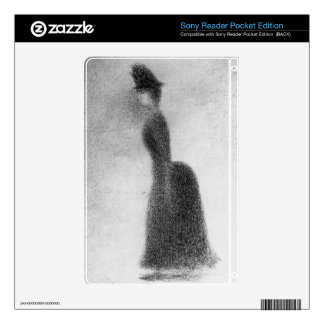 Woman by Georges Seurat Sony Reader Decals