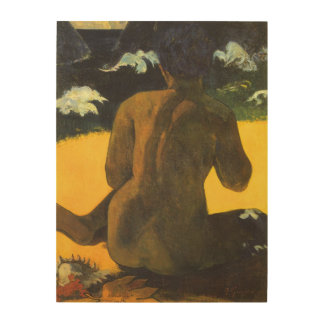 Woman by the Sea by Paul Gauguin, Vintage Fine Art