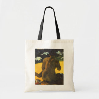 Woman by the Sea by Paul Gauguin, Vintage Fine Art Tote Bag