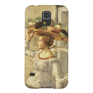 Woman carrying Fruit, from the Birth of St. John t Galaxy S5 Covers