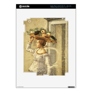 Woman carrying Fruit, from the Birth of St. John t iPad 3 Skin