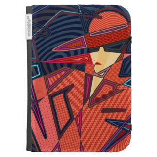 Woman Kindle 3G Cases