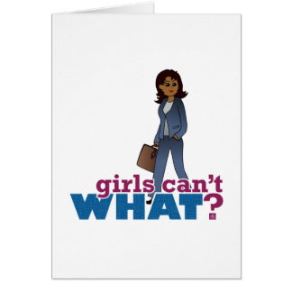 Woman CEO Card