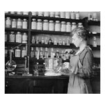 Woman Chemist, 1919 Poster