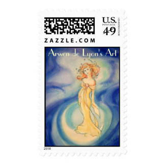 Woman Clothed With the Sun Postage Stamp