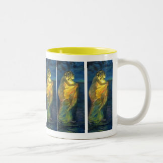 Woman Clothed with the Sun Two-Tone Coffee Mug