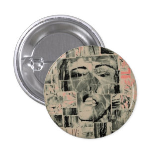 Woman Collage Button