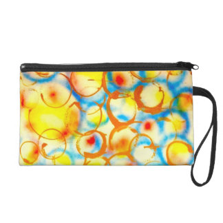 woman compact bag designed by Artist Metro One Wristlets