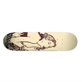 Woman - Cream Skateboard Deck