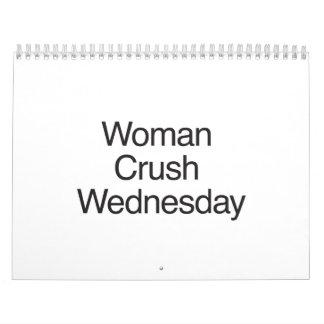 Woman Crush Wednesday.ai Wall Calendars