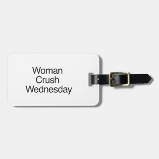Woman Crush Wednesday Tags For Luggage
