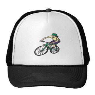 Woman Cycling Trucker Hat