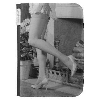 Woman Dancing Kindle Folio Cases