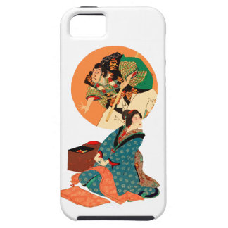 Woman Daydreaming iPhone 5 Cover