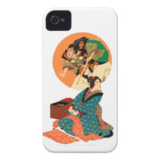 Woman Daydreaming iPhone 4 Cover
