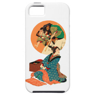 Woman Daydreaming iPhone 5 Case