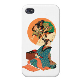 Woman Daydreaming Cases For iPhone 4