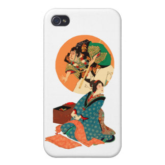Woman Daydreaming iPhone 4 Case