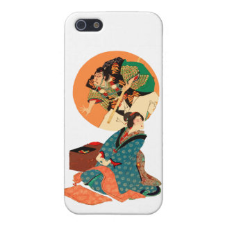 Woman Daydreaming Case For iPhone 5/5S