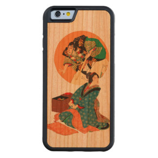 Woman Daydreaming Carved® Cherry iPhone 6 Bumper