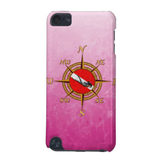 Woman Diver And Compass iPod Touch 5G Cover