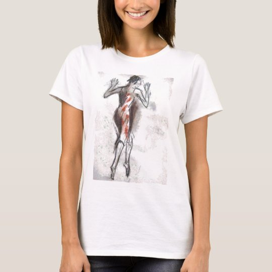 woman drawing T-Shirt