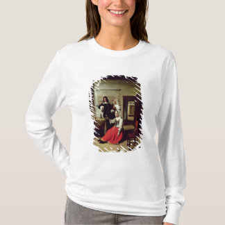 Woman drinking with soldiers, 1658 T-Shirt