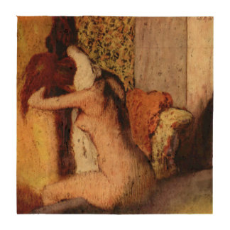 Woman Drying Her Neck by Edgar Degas Coaster