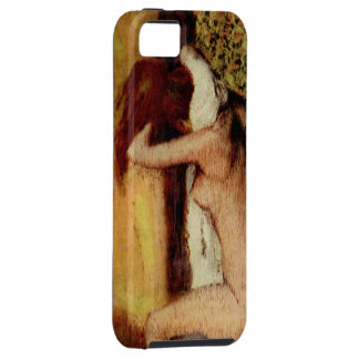 Woman Drying Her Neck iPhone SE/5/5s Case