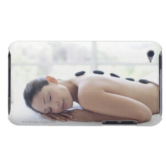 Woman enjoying lastone therapy barely there iPod cover