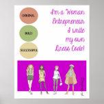 Woman Entrepreneur - Dress Code Print