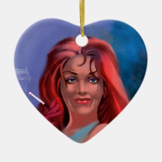 woman-evil.jpg ceramic ornament