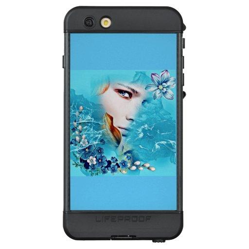 Woman Face blue LifeProof NÜÜD iPhone 6s Plus Case