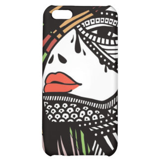 Woman Face Cover For iPhone 5C