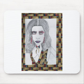 Woman Fashion Design Products Mouse Pad