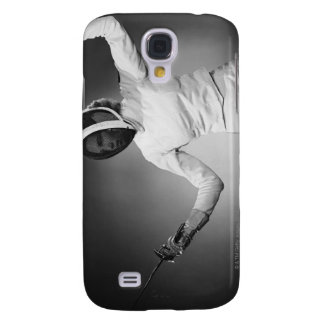 Woman Fencing Samsung Galaxy S4 Cases