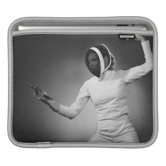 Woman Fencing Sleeve For iPads