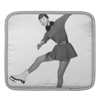 Woman Figure Skating Sleeve For iPads