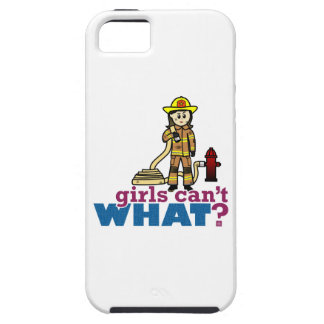 Woman Firefighter iPhone 5 Cover