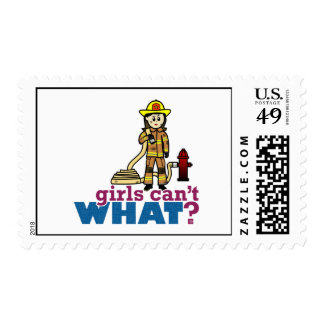 Woman Firefighter Stamp