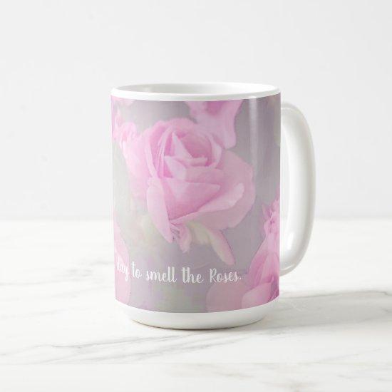 Woman Floral Birthday Coffee or Tea Coffee Mug