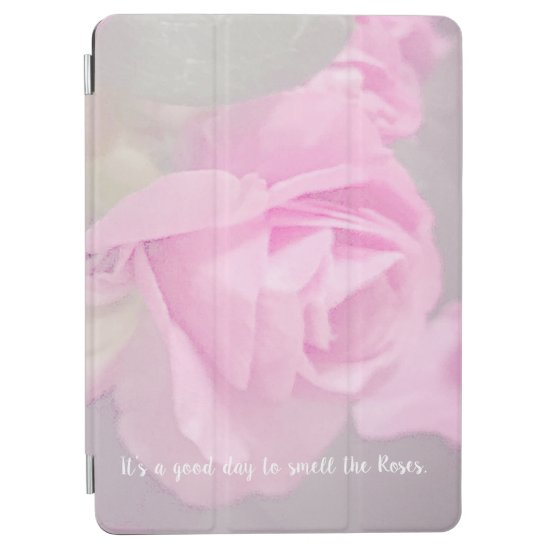 Woman Floral rosesBirthday Design  iPad Air Cover