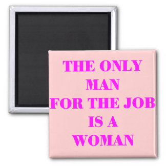 woman for job magnet